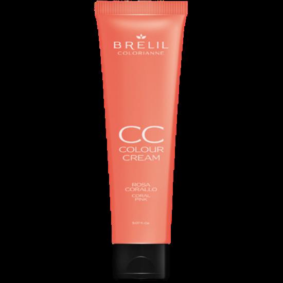 CC krém - výživný farbiaci krém, korálovo ružová