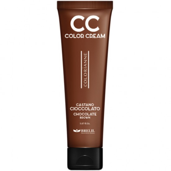 CC krém - výživný farbiaci krém, čokoládovo hnedá