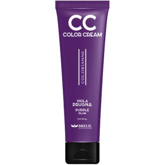 CC krém - výživný farbiaci krém, fialová slivka