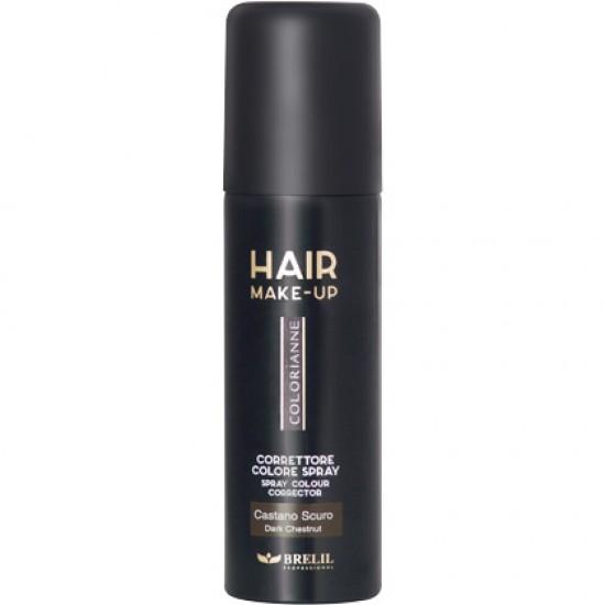 Hair Make Up - na prekrytie šedín - tmavohnedá
