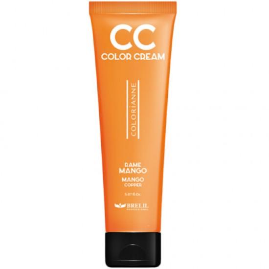 CC krém - výživný farbiaci krém, oranžové mango