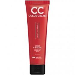 CC krém - výživný farbiaci krém, červená čerešňa